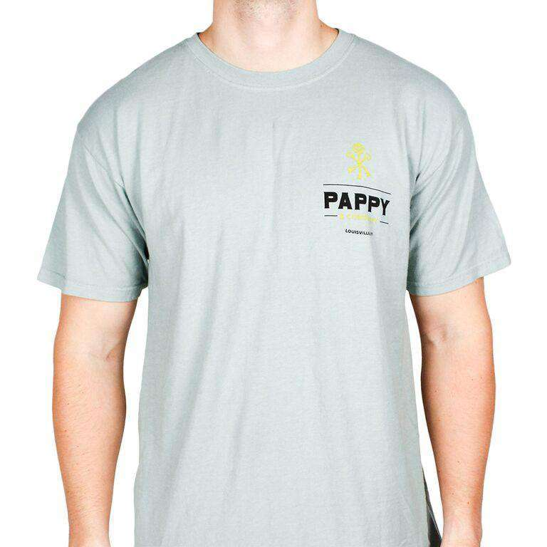 Men's Tee Shirts - Pappy And Thunder Tee In Grey By Pappy Van Winkle