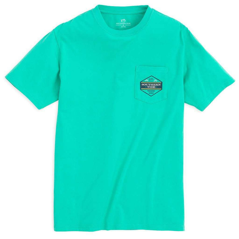 Predator Series Barracuda Tee Shirt in Tropical Palm by Southern Tide