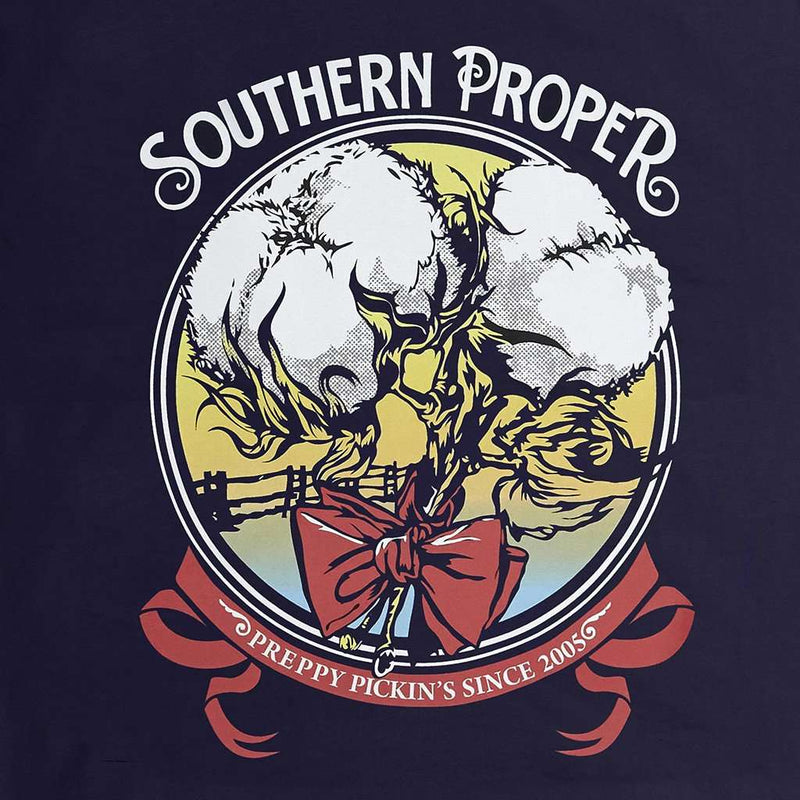 Preppy Pickins Tee in Navy by Southern Proper - FINAL SALE