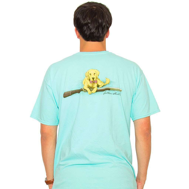 Retriever Tee in Ocean Blue by The Southern Shirt Co.