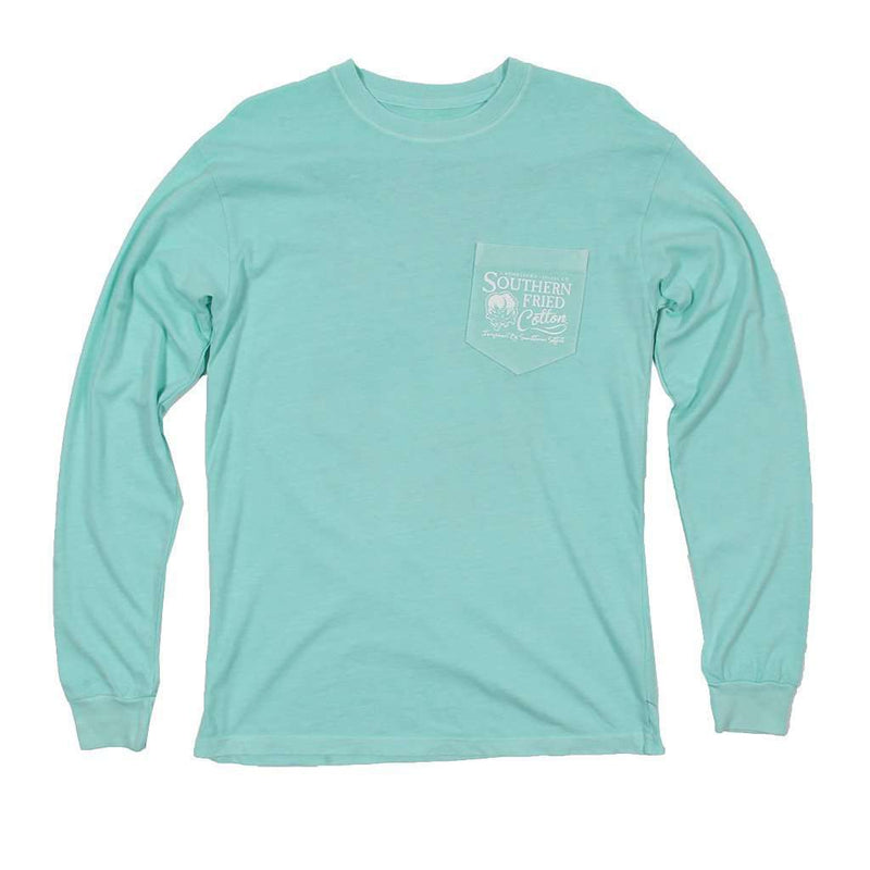 Ridin' On a Breeze Long Sleeve Tee in Mason Jar by Southern Fried Cotton