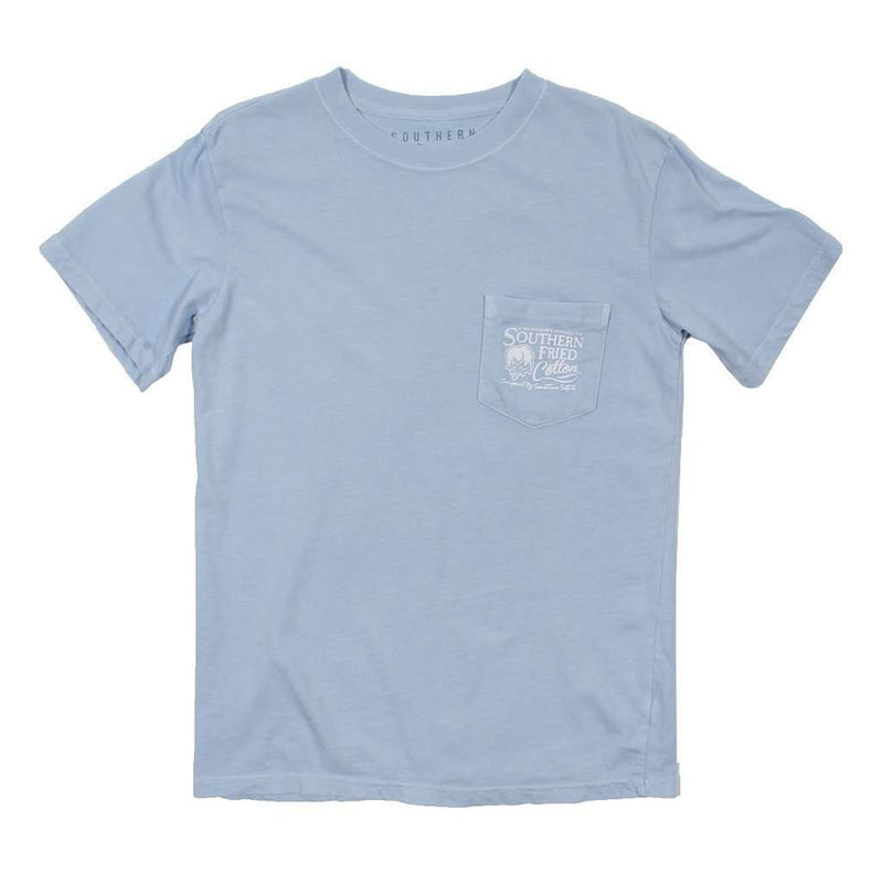 Ridin' On a Breeze Tee in Southern Sky by Southern Fried Cotton