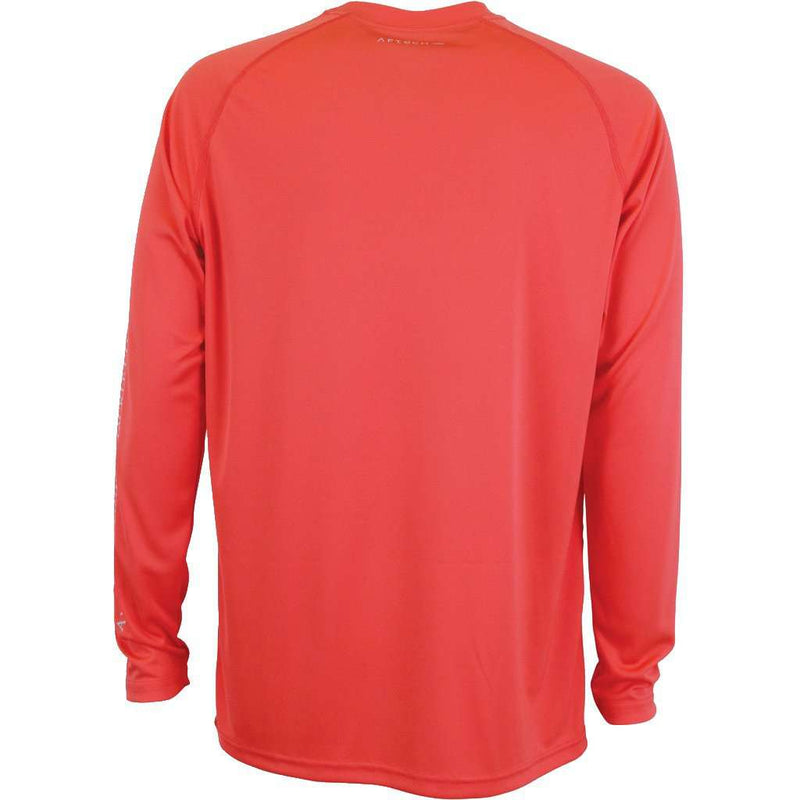 Samurai Long Sleeve Sun Shirt in Rose by AFTCO