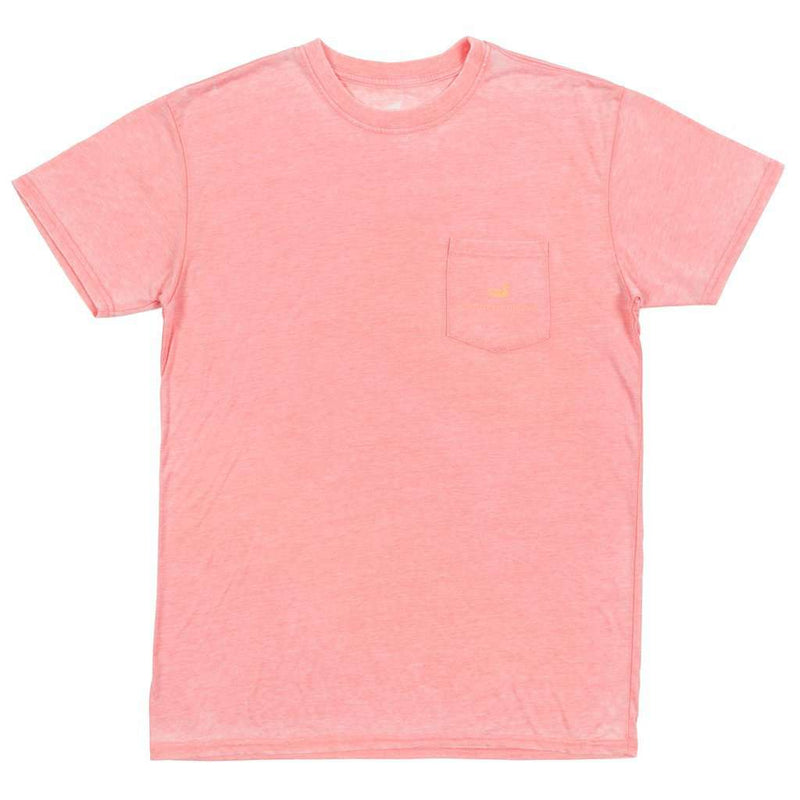 SEAWASH™ Sail Away Tee in Coral by Southern Marsh - FINAL SALE