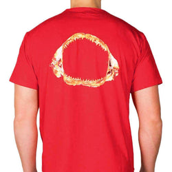 Shark Jaw Tee in Red by Blankenship Dry Goods - FINAL SALE