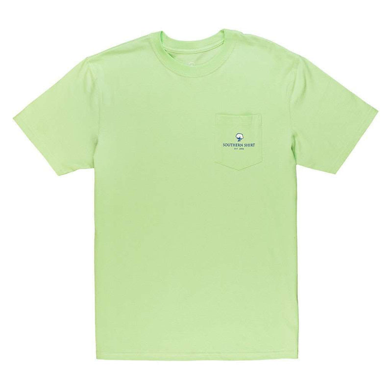 Signature Logo Tee in Pistachio Green by The Southern Shirt Co. - FINAL SALE