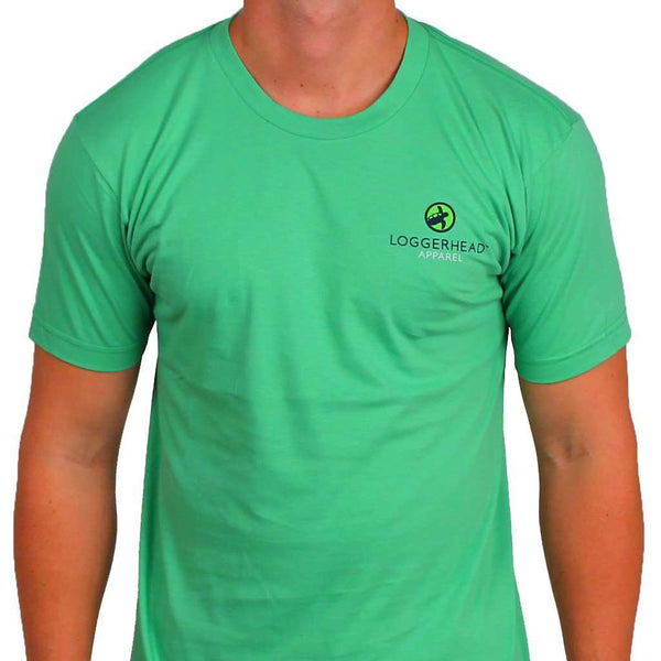 Small Towns Tee in Sage Green by Loggerhead Apparel - FINAL SALE