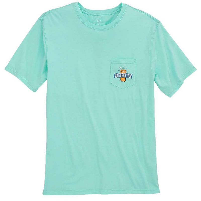 Southern Mix T-Shirt in Offshore Green by Southern Tide