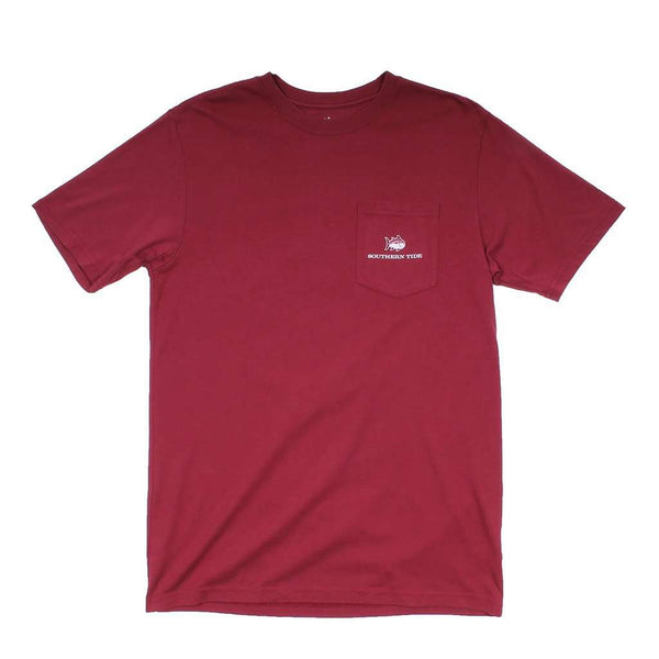 Texas A&M University Skipjack Fill T-Shirt in Chianti by Southern Tide