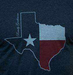 Texas State Pride Vintage Tee in Faded Blue by Rowdy Gentleman - FINAL SALE