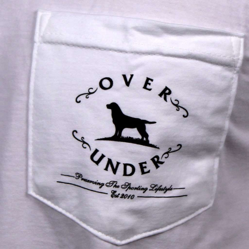 Men's Tee Shirts - The Collection Long Sleeve Tee In White By Over Under Clothing