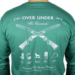 a06bc59677 The Essentials Long Sleeve Tee in Palmetto by Over Under Clothing