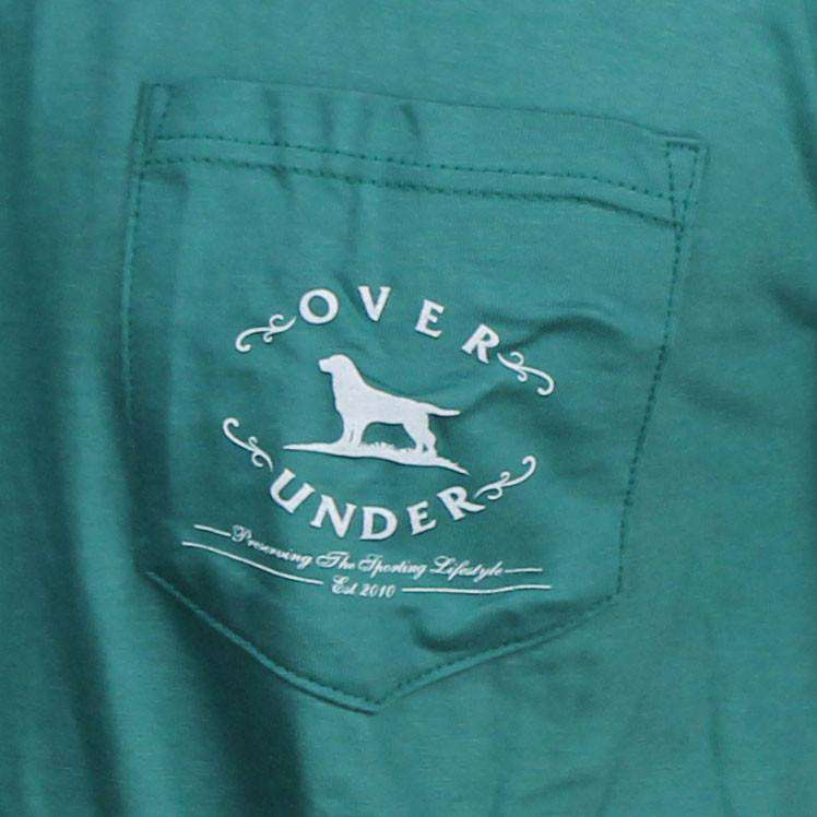 The Essentials Tee in Palmetto Green by Over Under Clothing