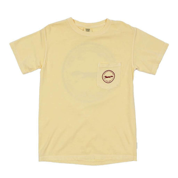 The Hawaiian Fill Original Logo Tee Shirt in Butter by Country Club Prep - FINAL SALE