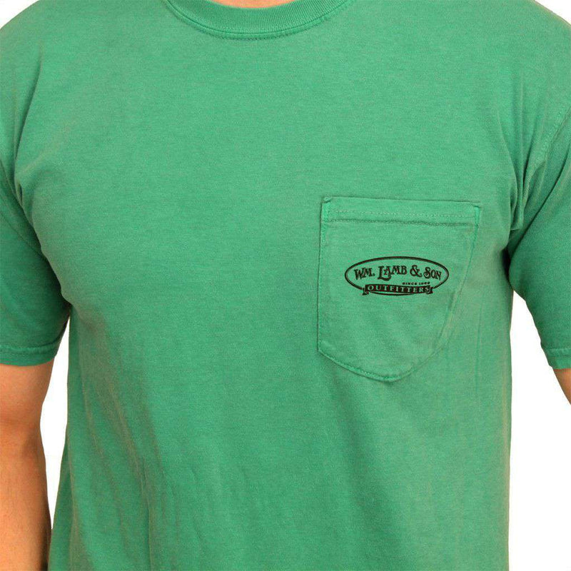 The Millionaire Tee in Grass Green by WM Lamb & Son - Country Club Prep