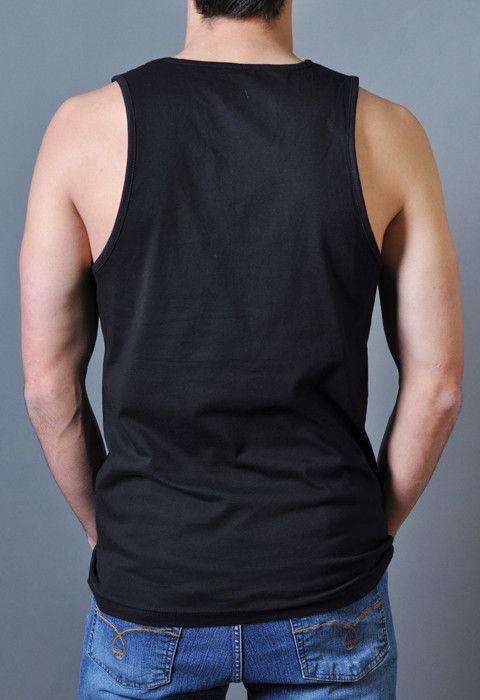 The Reagan Tank Top in Black by Rowdy Gentleman - FINAL SALE