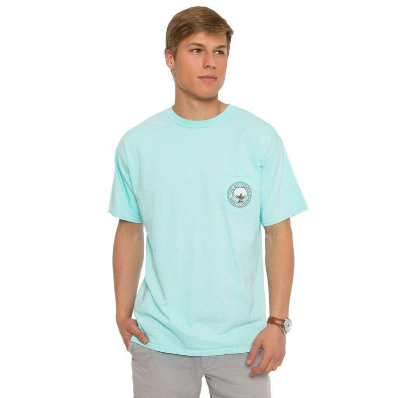 The Southern Prep Tee in Ocean Blue by The Southern Shirt Co.