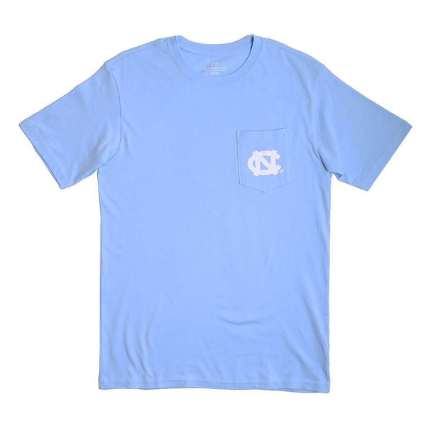 University of North Carolina Mascot Skipjack T-Shirt in Tide Blue by Southern Tide