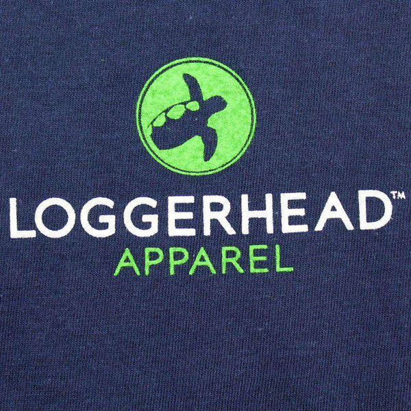 USS Loggerhead Tee in Navy by Loggerhead Apparel - FINAL SALE