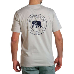 Men's Tee Shirts - Vintage Circle Back Tee In Grey By The Normal Brand