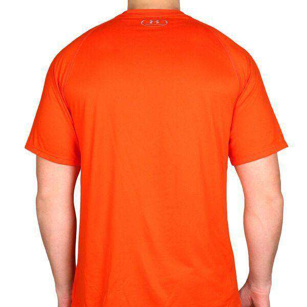 Virginia Cavaliers Performance Tee Shirt in Orange by Under Armour - FINAL SALE