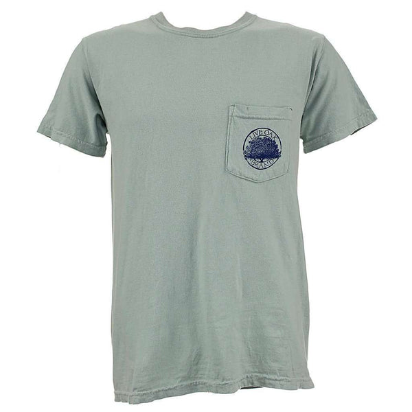 Virginia Crab License Plate Tee Shirt in Bay by Live Oak