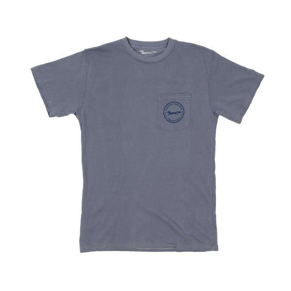 Whiskey Flag Tee Shirt in Granite by Country Club Prep