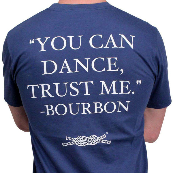 "Men's Tee Shirts - ""You Can Dance"" Pocket Tee In Navy By Knot Clothing & Belt Co."