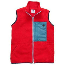 Men's Vests - All Prep Vest In Red By Southern Proper - FINAL SALE
