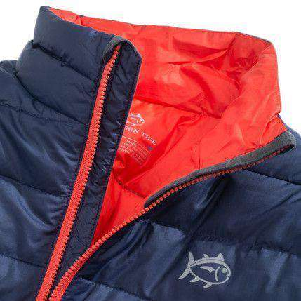 Altitude Down Vest in Navy by Southern Tide