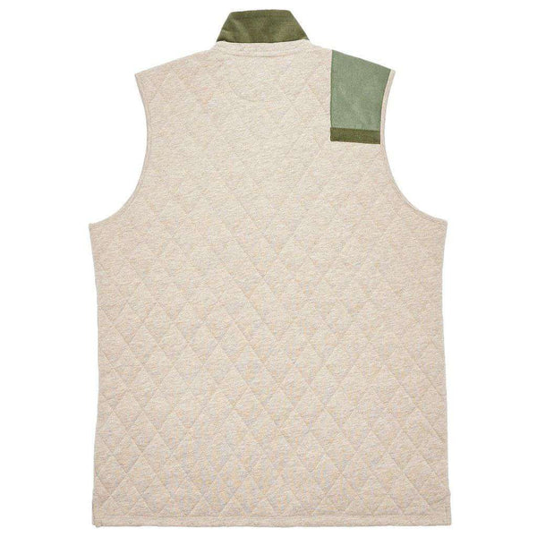 Carlyle Sporting Vest in Heathered Burnt Taupe by Southern Marsh - FINAL SALE