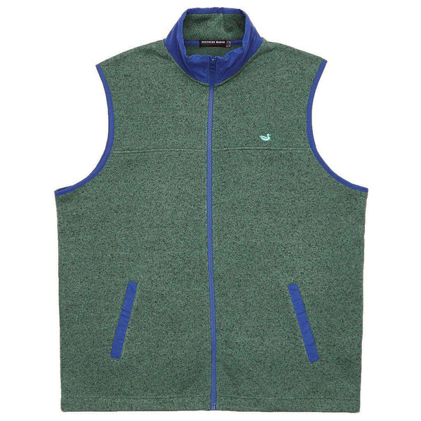 Men's Vests - FieldTec Woodford Vest In Dark Green By Southern Marsh