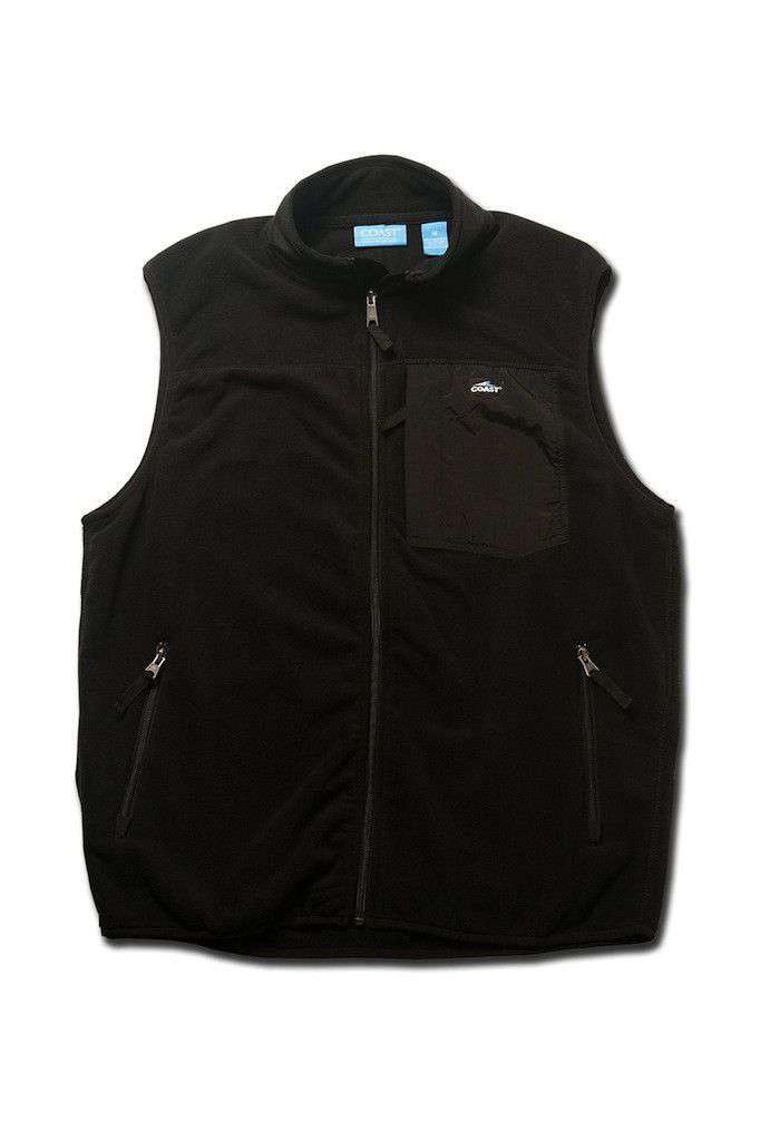 Fleece Vest in Black by Coast - FINAL SALE