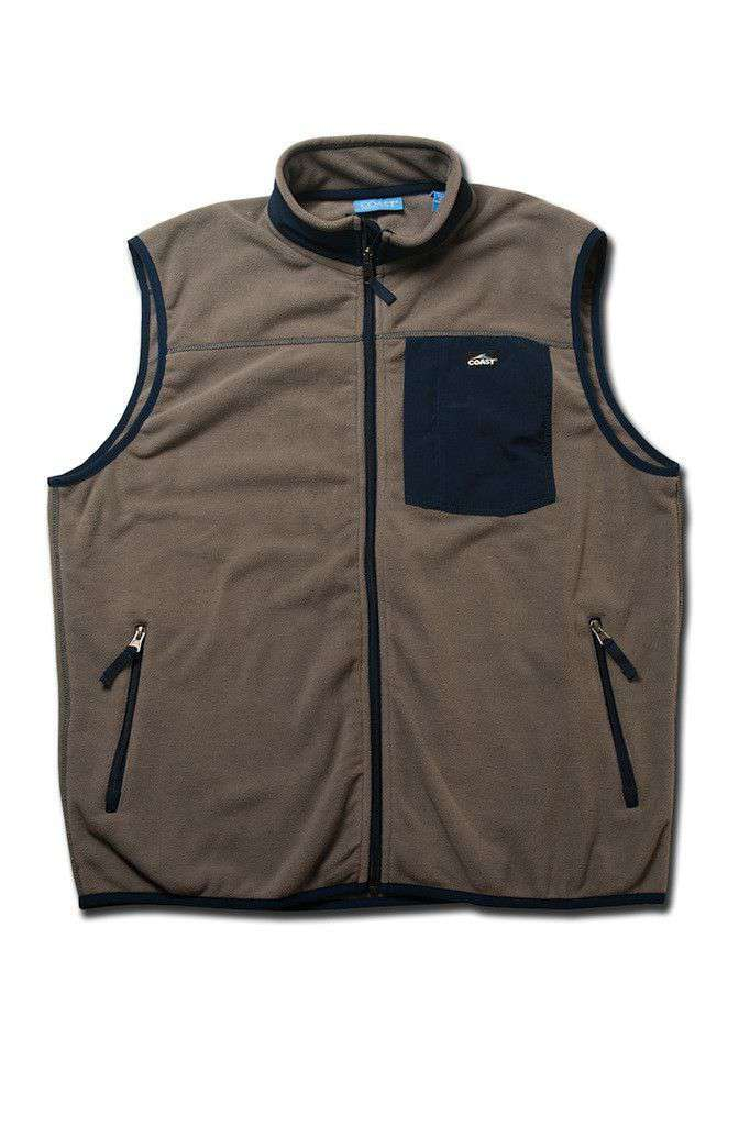 Fleece Vest in Grey by Coast - FINAL SALE
