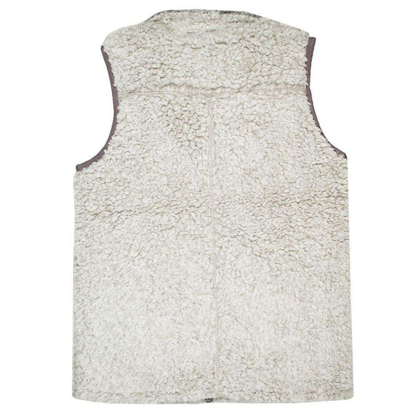 Men's Vests - Frosty Tipped Double Up Vest In Putty By True Grit