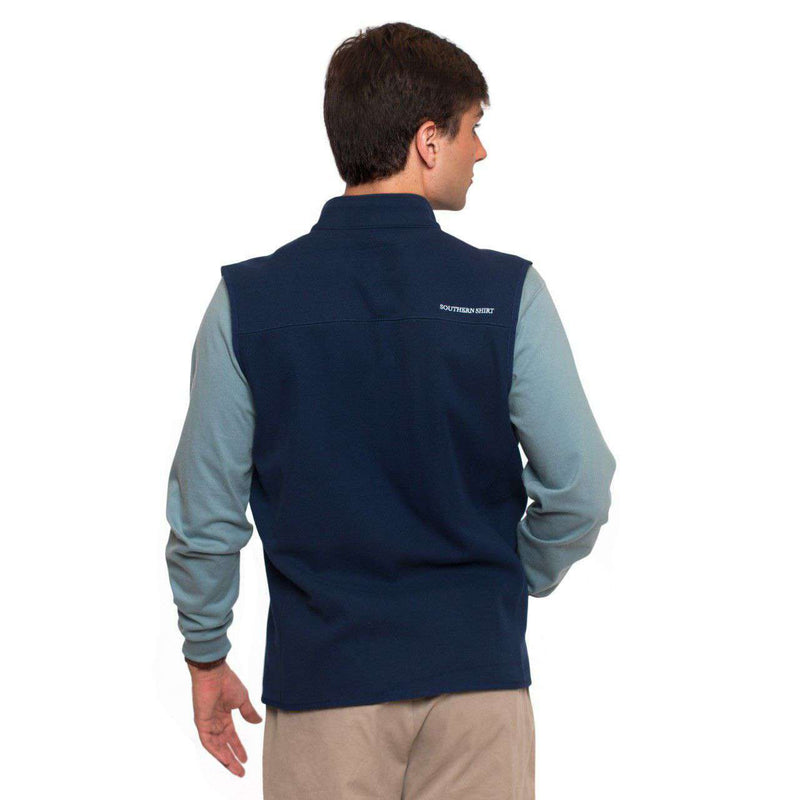 Keeler Vest in Capital Blue by The Southern Shirt Co.