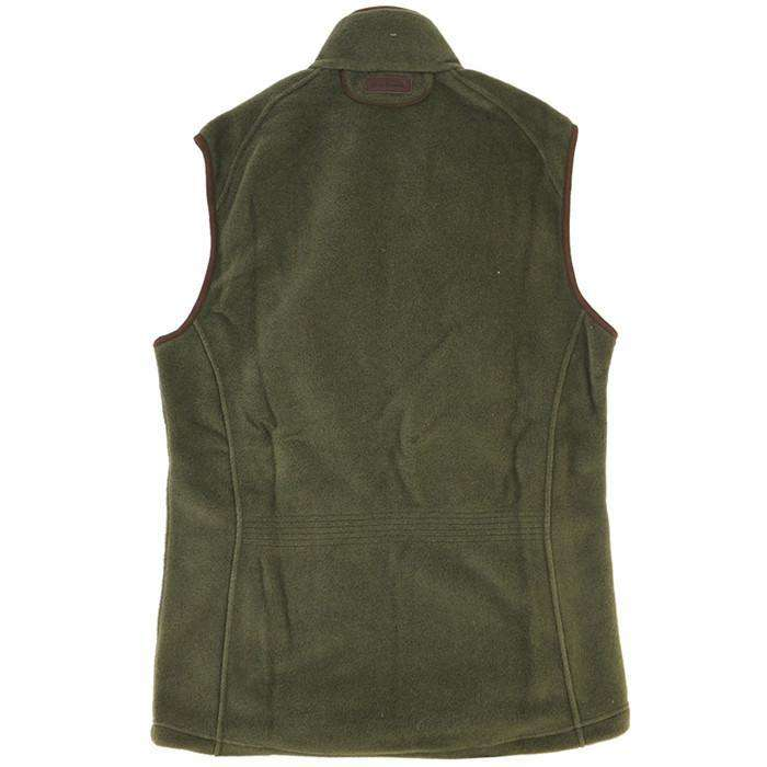 Men's Vests - Langdale Fleece Gilet In Olive By Barbour