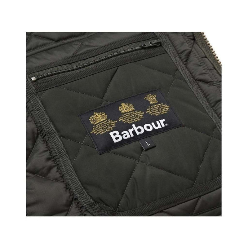 Lowerdale Quilted Gilet in Dark Green by Barbour - FINAL SALE