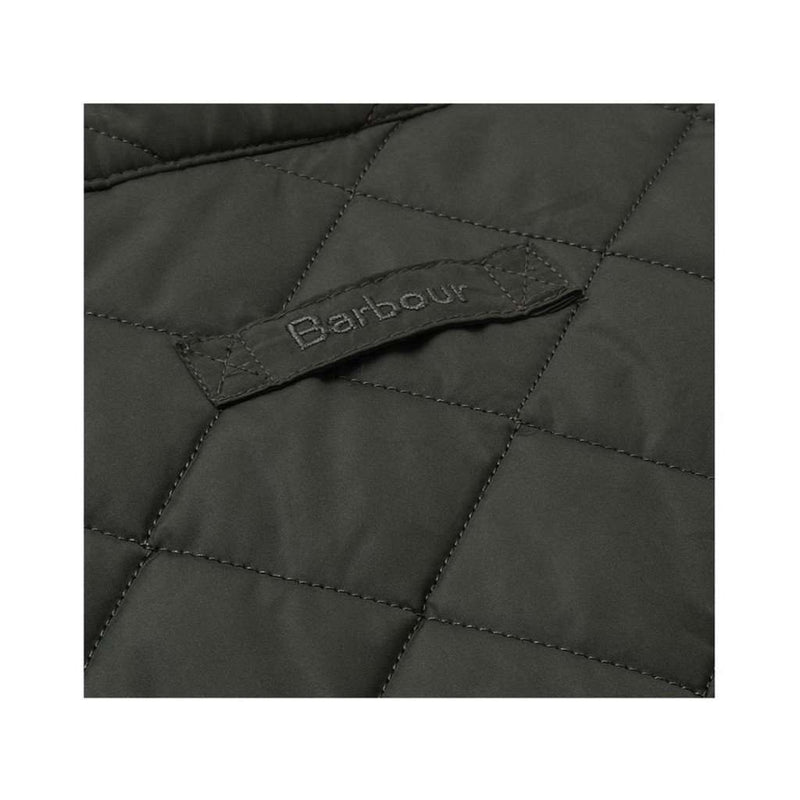 Men's Vests - Lowerdale Quilted Gilet In Dark Green By Barbour