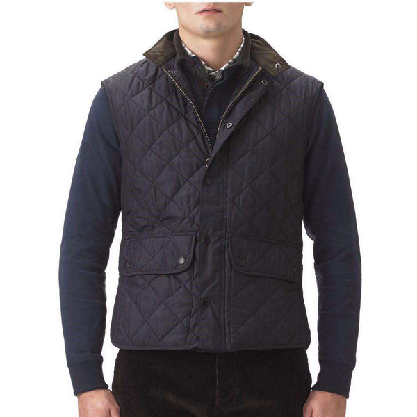 Lowerdale Quilted Gilet in Navy by Barbour - FINAL SALE