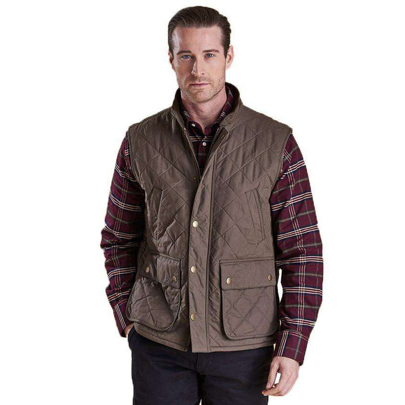 Redshore Quilted Gilet in Olive by Barbour - FINAL SALE