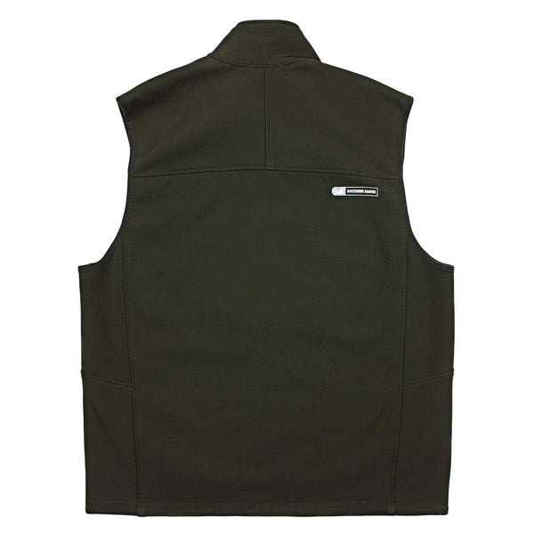 Ridge Softshell Vest in Midnight Gray by Southern Marsh