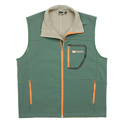 Men's Vests - Ridge Softshell Vest In Sandstone Green By Southern Marsh