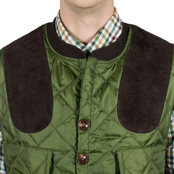 Sportsman Shooting Vest in Live Oak Green by Southern Proper - FINAL SALE