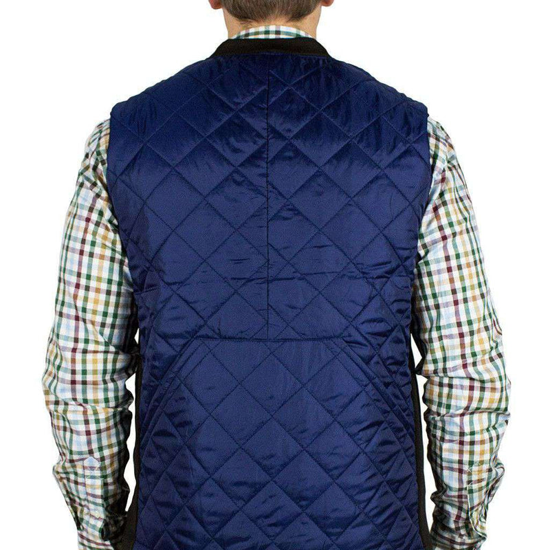 Sportsman Shooting Vest in Royal Navy by Southern Proper - FINAL SALE
