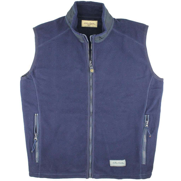 Men's Vests - The Camden Vest In Bayfront Navy By Southern Point Co. - FINAL SALE