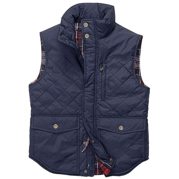 Varsity Vest in Navy by Southern Proper - FINAL SALE