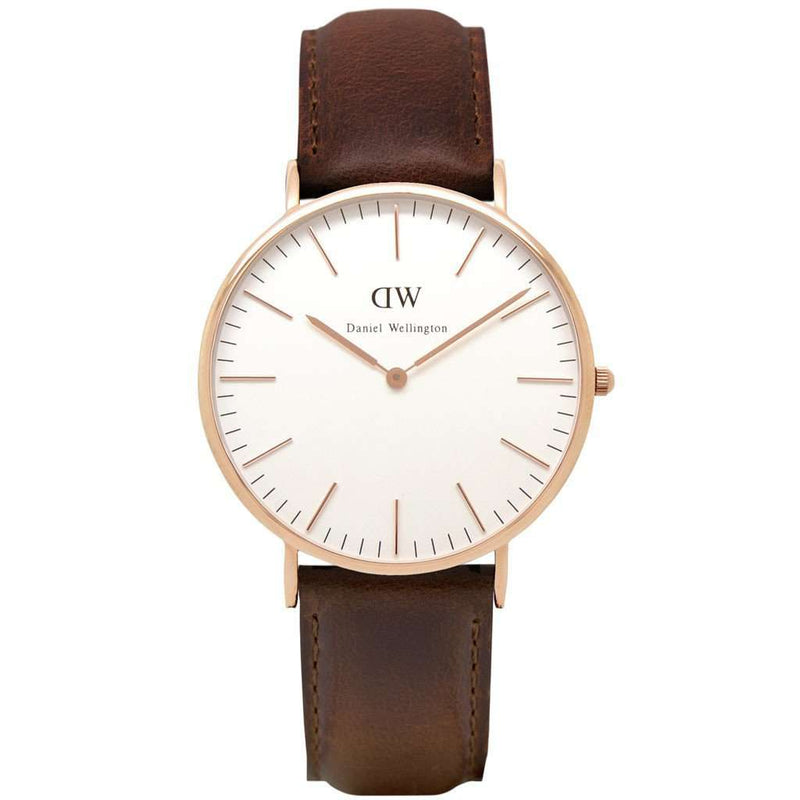 Men's Watches - Men's Classic Bristol Watch In Rose Gold By Daniel Wellington