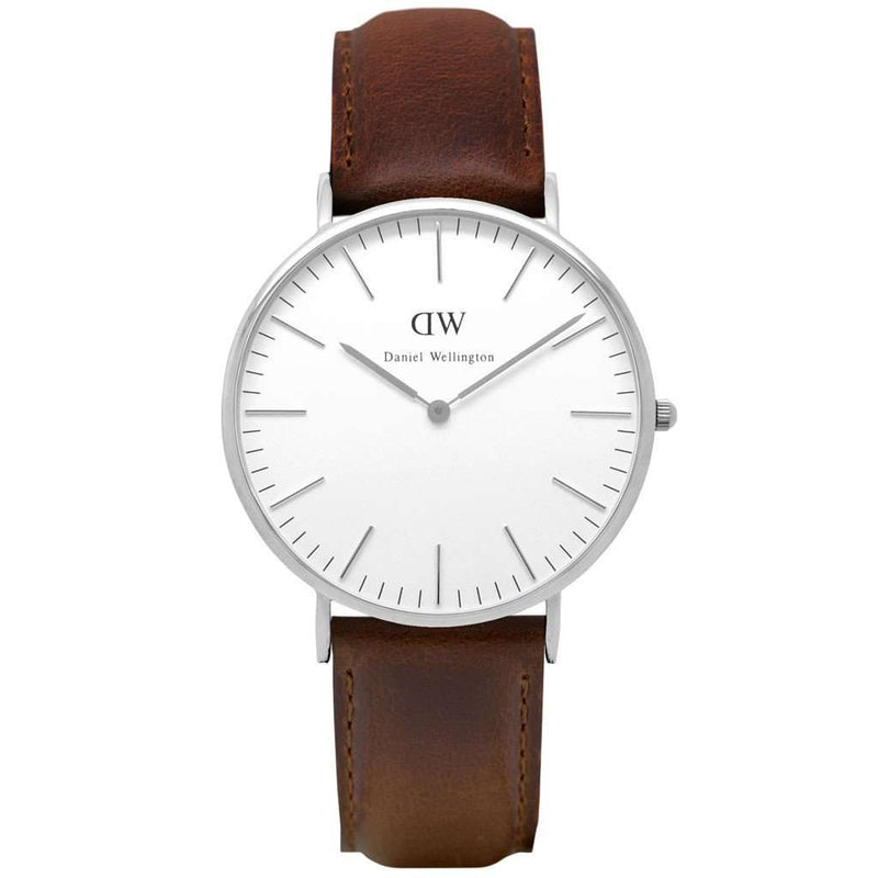 Men's Watches - Men's Classic Bristol Watch In Silver By Daniel Wellington