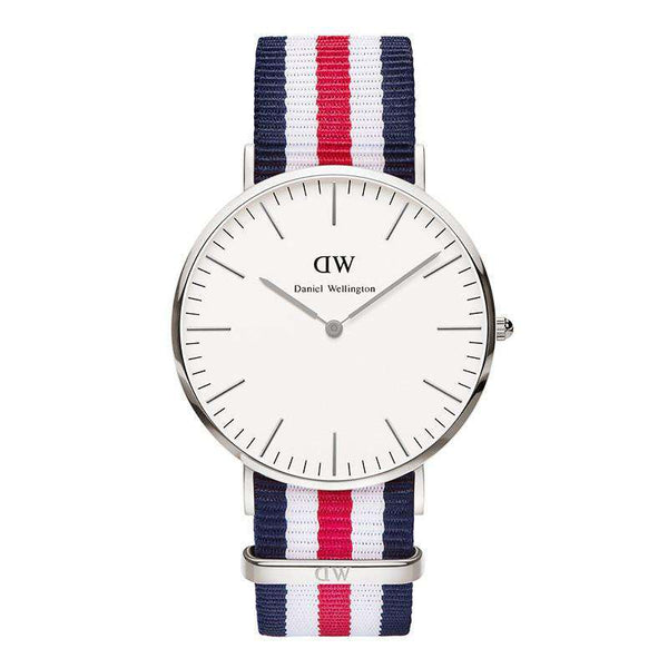 Men's Watches - Men's Classic Canterbury Watch In Silver By Daniel Wellington